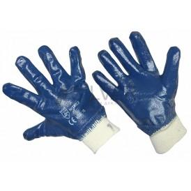 Перчатки х/б с нитриловым покрытием,  подкладка 100 % хлопок