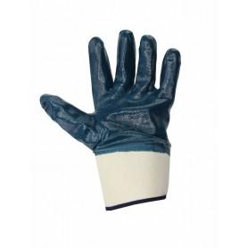 Перчатки х/б,  манжета крага с нитриловым покрытием,  подкладка 100 % хлопок