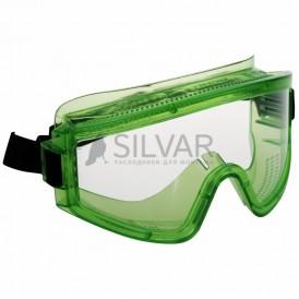 Очки защитные закрытые с прямой вентиляцией ЗП2 PANORAMA (PL)