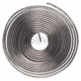 Припой с канифолью ПОС-61 REXANT,  1 м,  Ø0. 8 мм,  (олово 61%,  свинец 39%),  спираль,  конверт