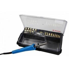 Выжигатель REXANT (набор паяльник-выжигатель),  19 насадок,  подставка,  230 В/30 Вт