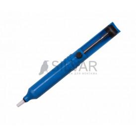 Вакуумный экстрактор припоя (оловоотсос),  пластик REXANT