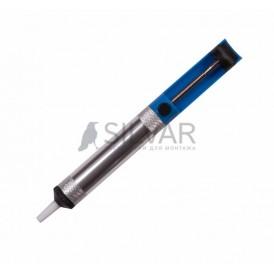 Вакуумный экстрактор припоя (оловоотсос),  металл/пластик REXANT
