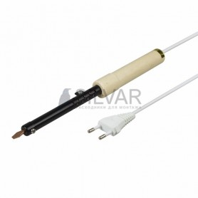 Паяльник ПД REXANT,  220 В/40 Вт,  деревянная ручка + припой,  блистер