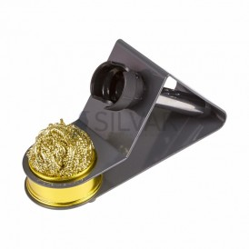 Подставка под паяльник + стружка для очистки жала REXANT