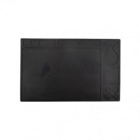 Коврик антистатический термостойкий 329х208х2. 6 мм черный