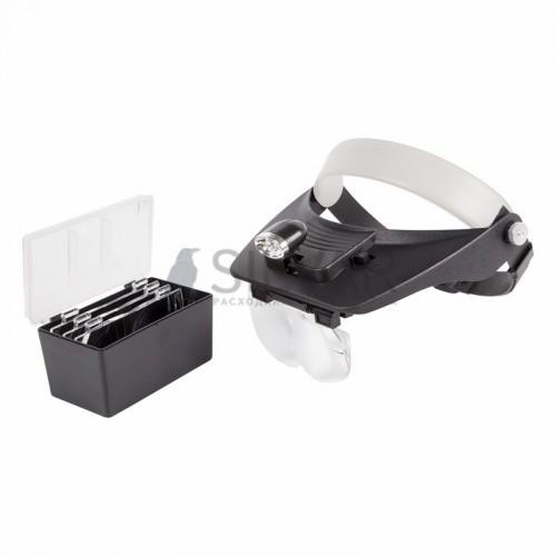 Бинокуляр монтажный REXANT,  1. 2х,  1. 8х,  2. 5х,  3. 5х с 2хLED подсветкой