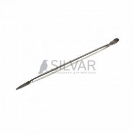 Спуджер металлический узкий (лопатка двухсторонняя) 170 мм