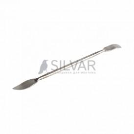 Спуджер металлический широкий (лопатка двухсторонняя) 170 мм