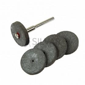 Набор резинок 5 шт.  диск + держатель 3, 1 мм