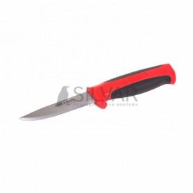 Нож строительный нержавеющая сталь лезвие 90 мм REXANT