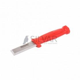Нож-стамеска,  нержавеющая сталь,  лезвие 75х22 мм REXANT