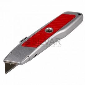 Нож с трапециевидным лезвием Профи REXANT