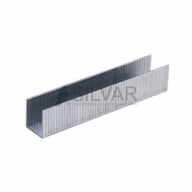 Скобы 10, 6х1, 2 мм,  широкие,  1000 шт.  12 мм REXANT