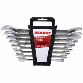 Набор ключей рожковых 8-24 мм 8 предметов REXANT