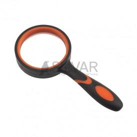Лупа ручная круглая «Soft Touch»,  3X,  диаметр 50 мм