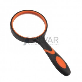 Лупа ручная круглая «Soft Touch»,  3X,  диаметр 75 мм