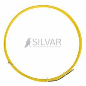 Протяжка кабельная PROconnect (мини УЗК в бухте),  стеклопруток,  d=3, 0 мм,  15 м