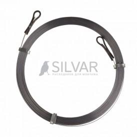 Протяжка кабельная стальная плоская PROconnect,  5 м