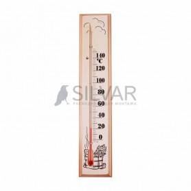 Термометр для сауны,  основание — дерево 60х300 мм REXANT