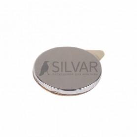 Неодимовый магнит диск 10х1мм с клеем сцепление 0, 5 кг (упаковка 20 шт) Rexant