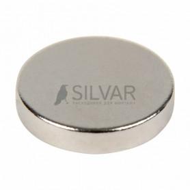 Неодимовый магнит диск 10х2мм сцепление 1 кг (упаковка 14 шт) Rexant