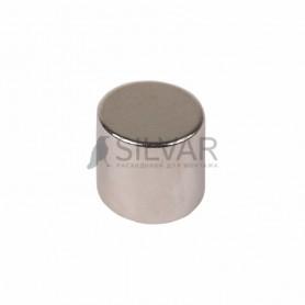 Неодимовый магнит диск 10х10мм сцепление 3, 7 кг (упаковка 2 шт) Rexant