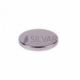 Неодимовый магнит диск 15х2мм сцепление 2, 3 кг (упаковка 5 шт) Rexant