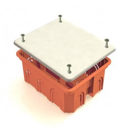 GE41028  Коробка распаячная для полых стен 120х92х45мм,  IP20 (98шт)