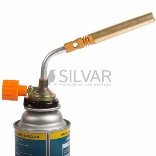 Газовая горелка-насадка GT-18 (механическая с регулятором) паяльного типа REXANT