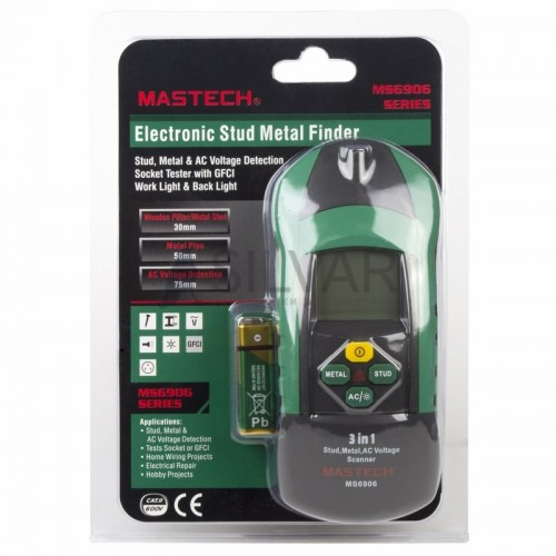 Детектор металла MS6906 MASTECH