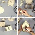 Доска для выжигания 3D 1 шт.  «Кормушка для птиц» REXANT