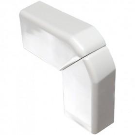 030223 Угол плоский переменный для кабель-канала 20x12,5мм, цвет белый