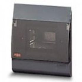 ESTETICA бокс в нишу 4М прозр.дверь серый