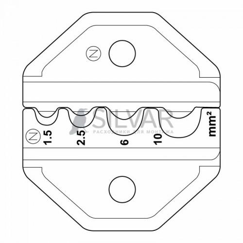 ht-301N Кримпер для обжима изолированных и неизолированных гильз 1. 5-10. 0 мм² REXANT