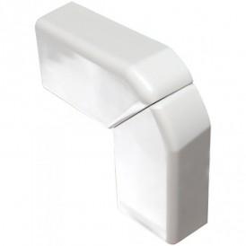 Угол плоский переменный для кабель-канала 32x20мм, цвет белый