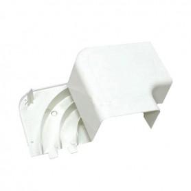 RLA 100х55 Угол плоский с задней стенкой  и разделителем ARC-LAN, огнестойкость E15-E110