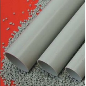 Труба ПНД гладкая, без галогена  диам 63 мм (100м)