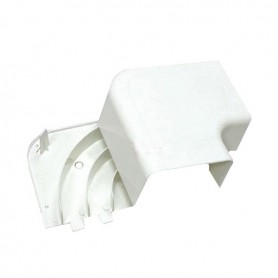 RLA 100х40 Угол плоский с задней стенкой  и разделителем ARC-LAN , огнестойкость E15-E110