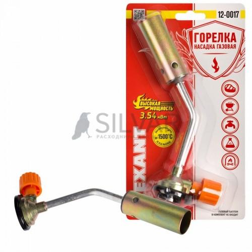 Газовая горелка-насадка GT-17 (механическая с регулятором) REXANT