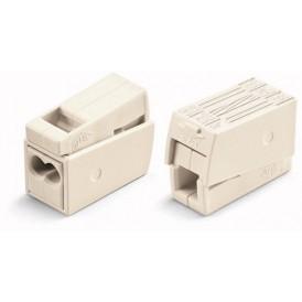 Клеммы  для светильников  WAGO  224-112 с пастой (уп. 100 шт)